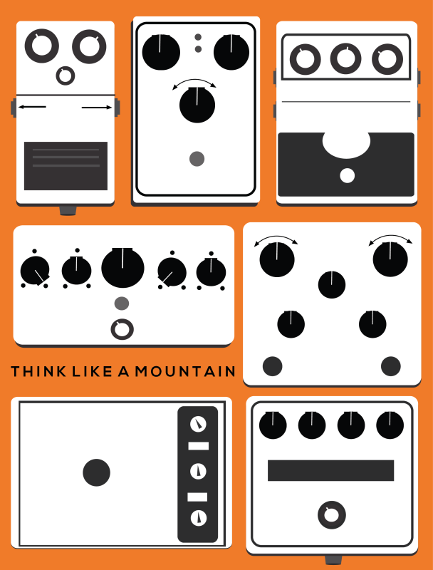 THINK LIKE A MOUNTAIN 8.5 x 11