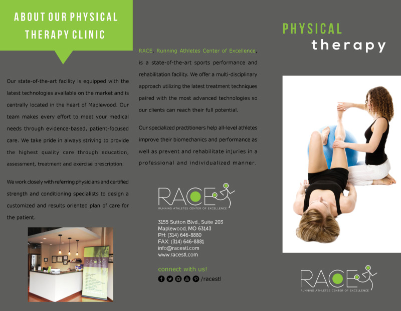 physical therapy brochure CHANGES